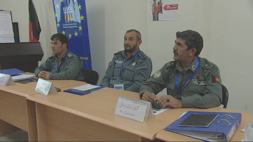Afgan polisi 2014 sonrasına hazırlanıyor