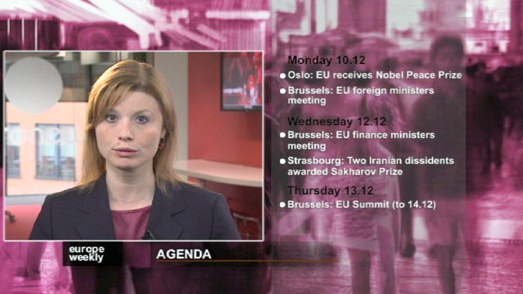 """""""Europe Weekly"""": União bancária e antevisão do Nobel da Paz para a UE"""