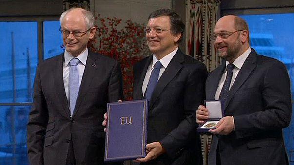 Нобелевская премия мира лауреату с неопределенным будущим