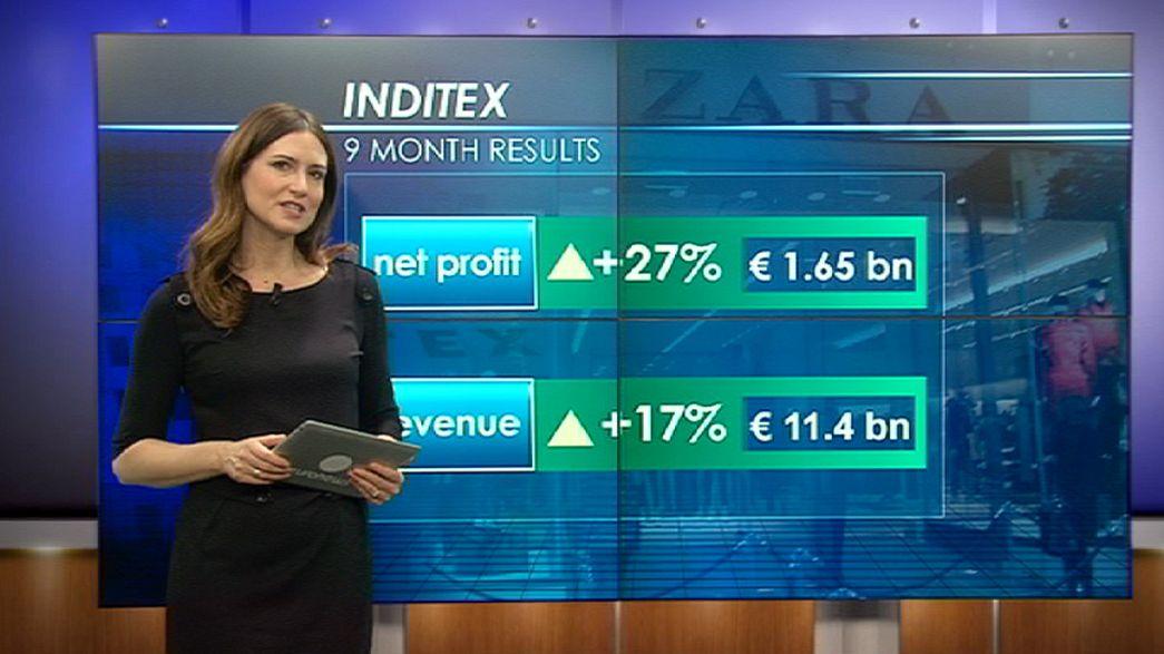 Inditex gana un 27% más en los primeros diez meses del año