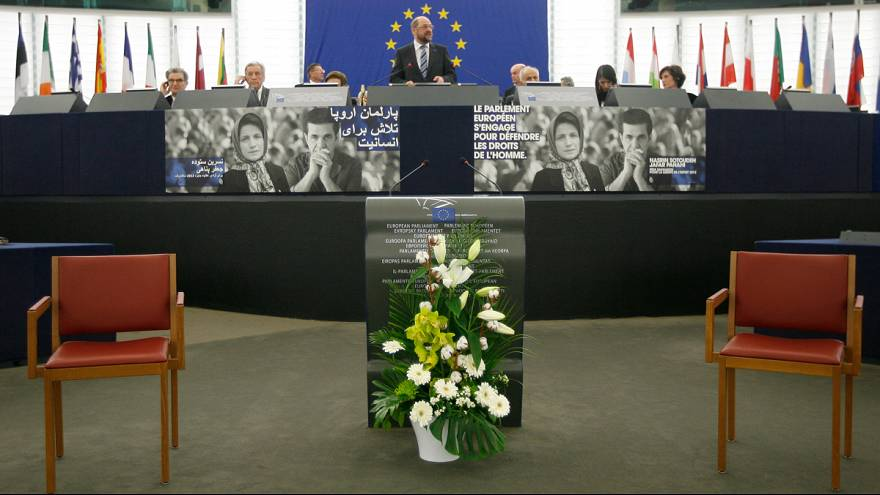 Detained Iranians receive Sakharov Prize