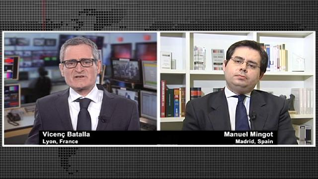 المصرف المركزي الأوروبي للرقابة على مصارف المنطقة