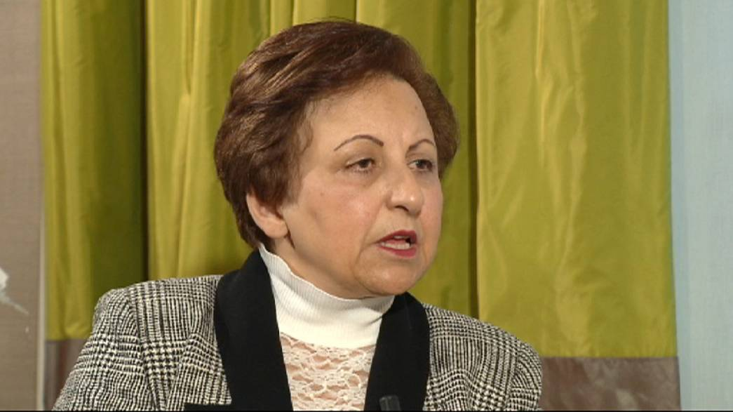 Ebadi speaks for Sotoudeh: support Iran's dissidents in every way possible