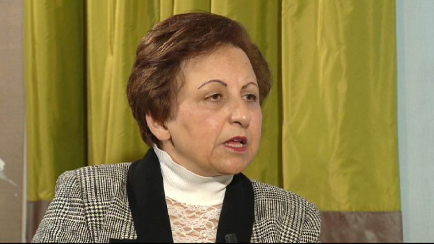 شيرين عبادي : على العالم مساندة سجناء الرأي في إيران