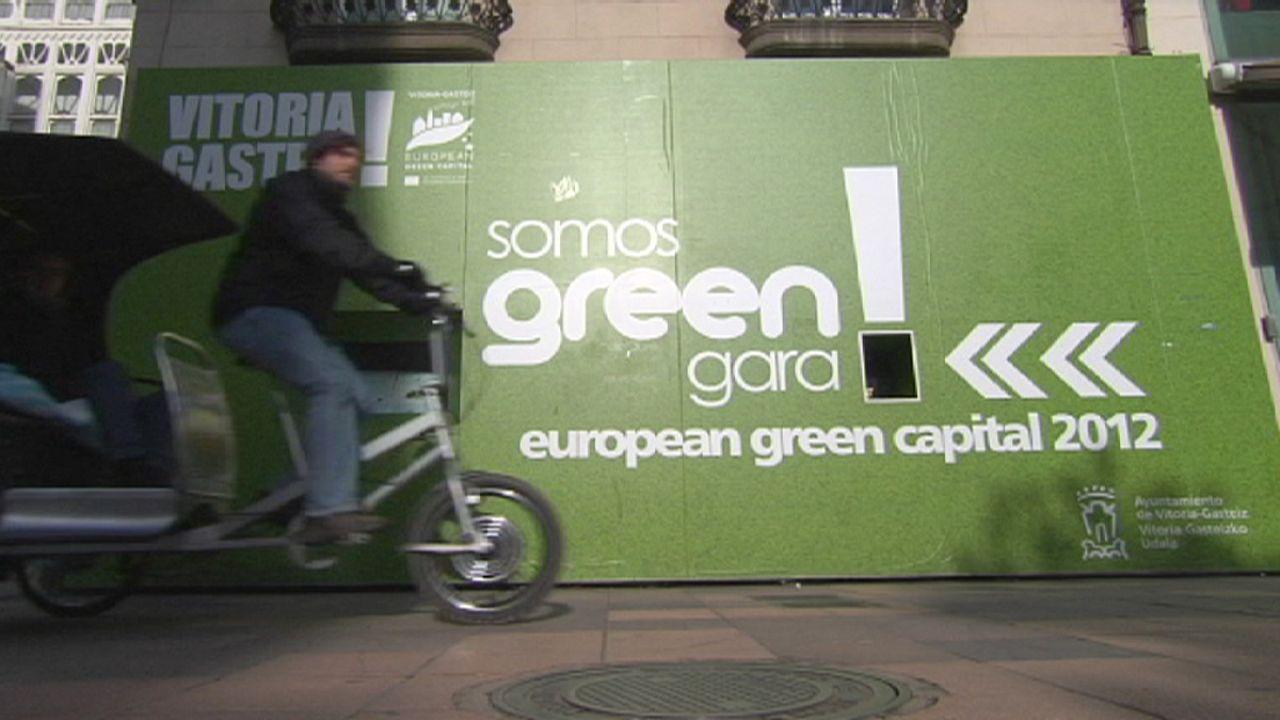 Vitoria-Gasteiz is Spain's green pioneer