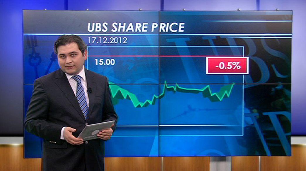UBS baja en bolsa por su posible multa por el escándalo del Libor