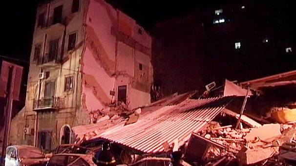 Deadly Sicilian buildings collapse