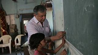 Wise words in India teach thousands in the slums