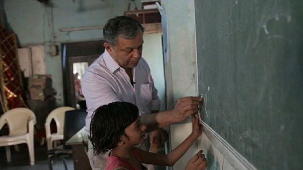 جائزة وايز للتعليم في خدمة أطفال الهند الفقراء