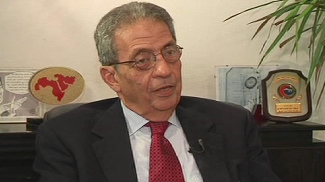 """Amr Moussa: """"A Irmandade quer impor um regime de partido único"""""""