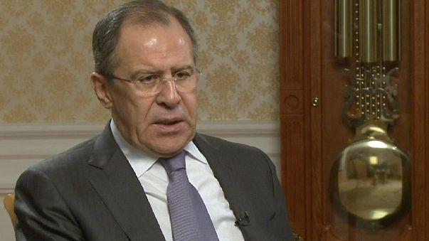 وزير الخارجية الروسي سيرغي لافروف ليورونيوز: لن يكون هناك منتصرون في الحرب السورية.
