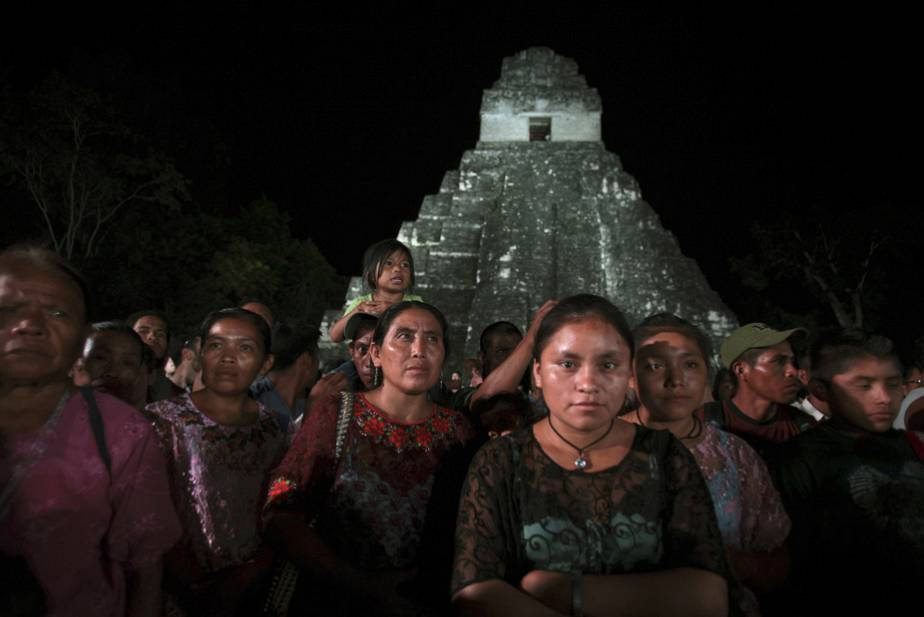 Mayan community protests amid Apocalypse craze