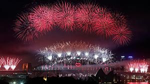 Celebrations begin as Auckland leads the way into 2013