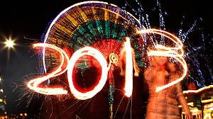 New Year celebrations get underway to welcome in 2013