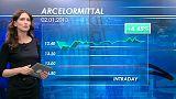 ArcelorMittal apre in bellezza il 2013