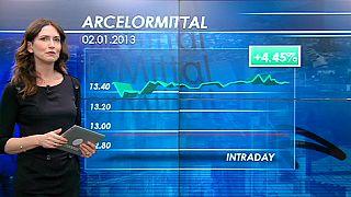 ArcelorMittal dispara na bolsa