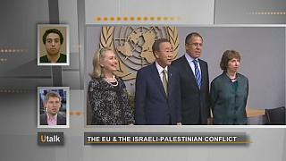 What is the EU doing for peace in the Middle East?