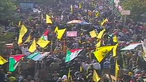 Fatah holds first mass Gaza rally in years