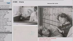 Unpublished photo of Princess Diana up for auction