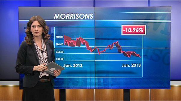 Natal dececionante para supermercados Morrisons