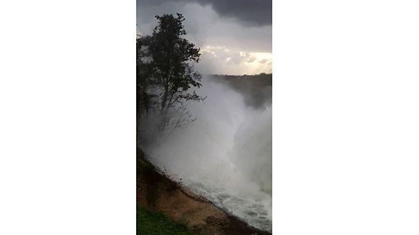 Heavy rain floods Paphos