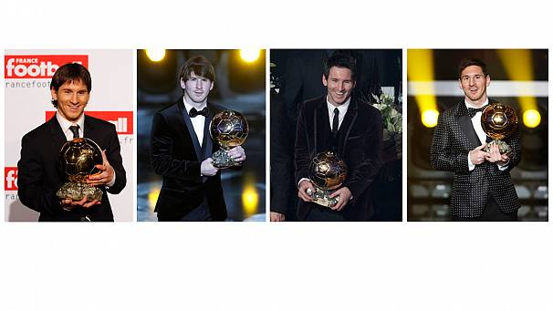 Messi is 'World's Best Footballer' for a record fourth time