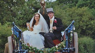 """Эко-свадьба: невеста была в """"зеленом"""""""