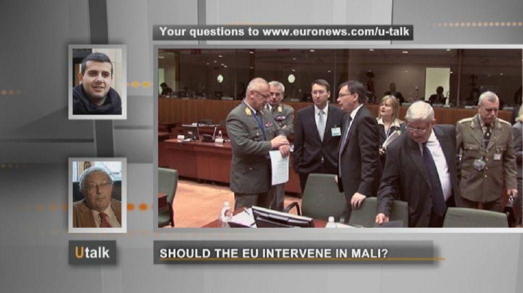 A reação da UE aos conflitos no Mali