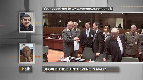 آیا اتحادیه اروپا باید در کشور مالی دخالت نظامی کند؟