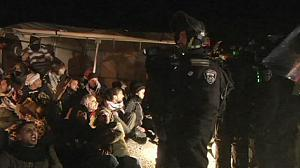 Palestinian protesters evicted from E1, West Bank
