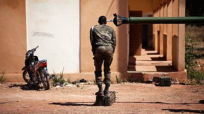 French troops on the ground in Bamako