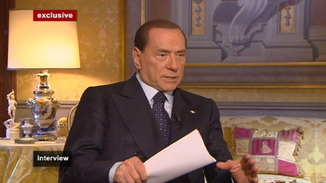 """O regresso segundo Berlusconi: """"Eu ganho sempre!"""""""