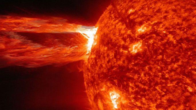 اسرار الإنفجارات الشمسية؟
