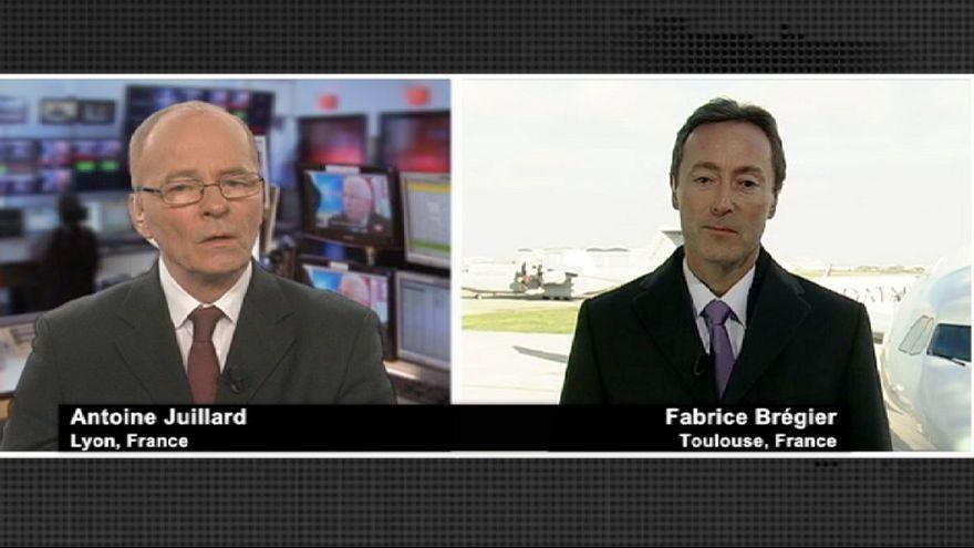 """""""Nous ne sommes pas largement derrière Boeing en 2012, c'est faux"""""""