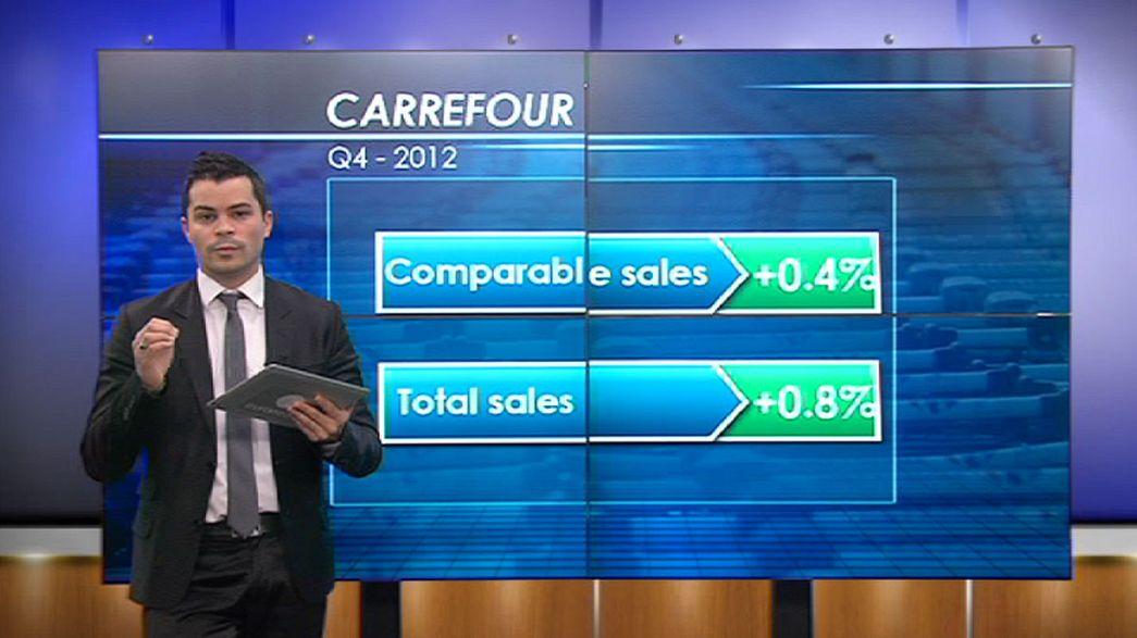 Las ventas de Carrefour se normalizan