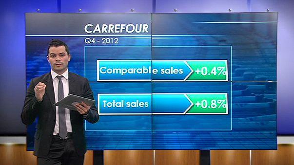 Carrefour vola in borsa