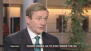 Irish PM warns UK that EU exit would be 'catastrophic'