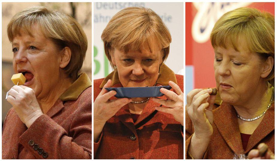 Merkel's munchies