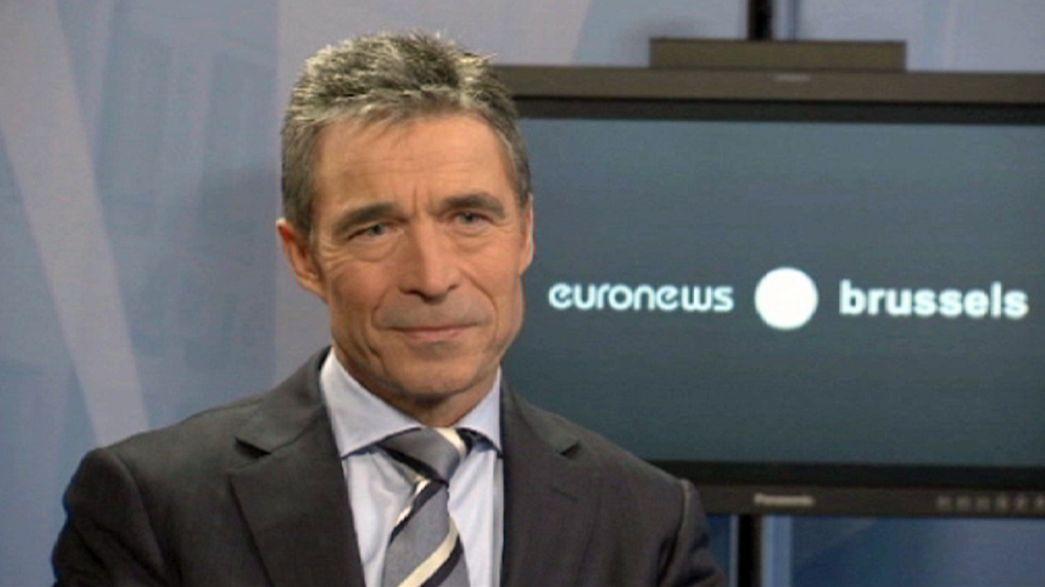 """Rasmussen : """"L'OTAN ne peut pas être le gendarme du monde"""""""