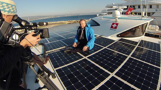 Blog: PlanetSolar, where the sun blows