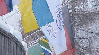 Todo listo en Davos para el Foro Económico Mundial