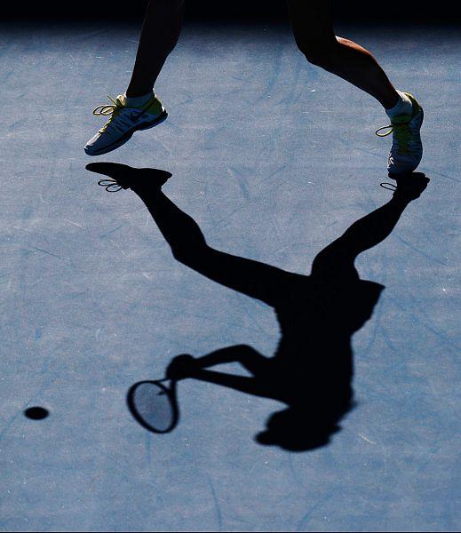 Shadow playfrom Sharapova