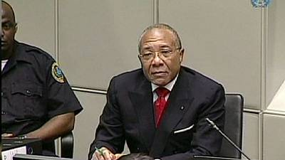Charles Taylor appeals war crimes in the Hague