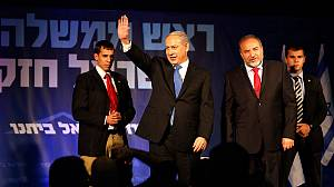 "Netanyahu to go for a ""broad coalition"""