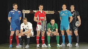 : Rugby captains attend Six Nations launch