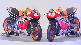 sport: Repsol Honda unveil new bikes and rider