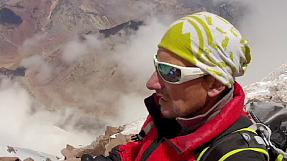 sport: Record tumbles in climb to the top of Argentine mountain