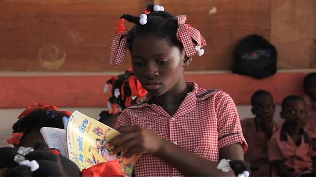 Haiti: Rebuilding education
