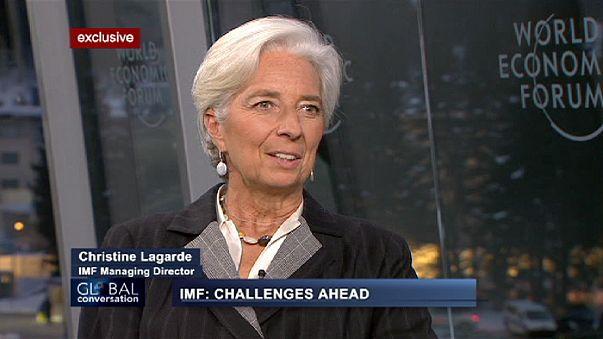 """Lagarde im euronews-Interview: """"Wir haben den Zusammenbruch vermieden"""""""