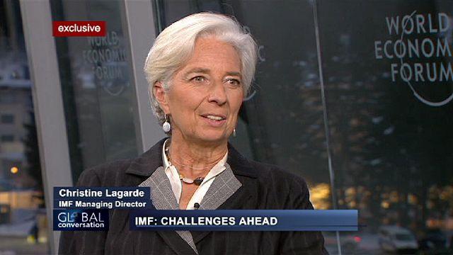"""كريستين لاغارد ليورونيوز: """" علينا تجنب الإنتكاسة في عام 2013"""""""